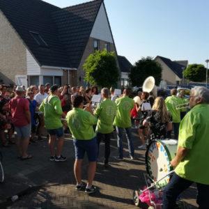 Foto's Lutjebroekerblaasband 2018